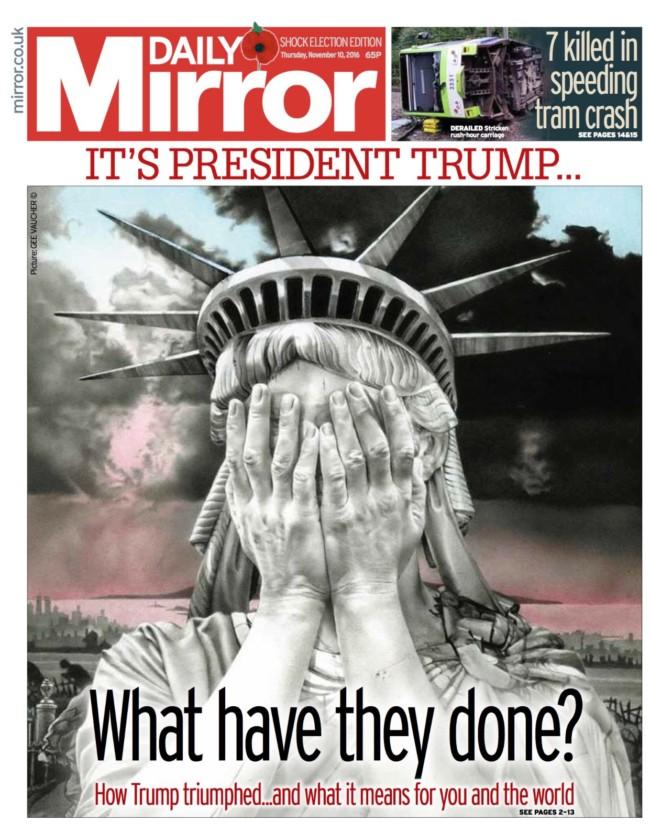 Trump mirror
