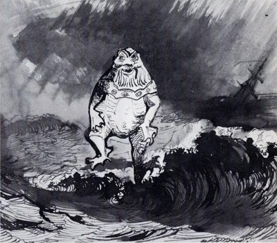 Victor Hugo drawings