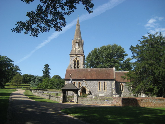 St Mark's parish church, Englefield, Berkshire