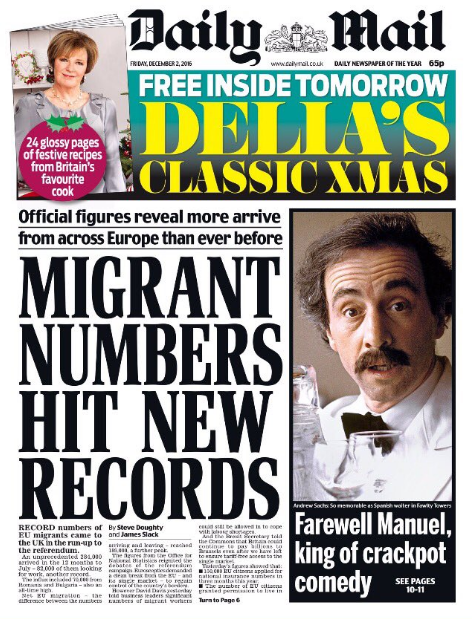 andrew sachs daily mail
