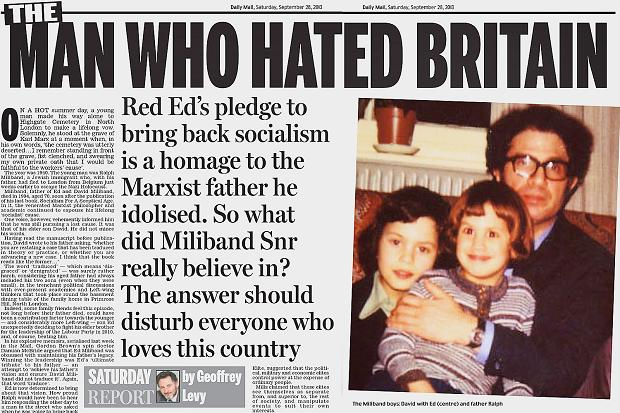 ed miliband ralph david daily mail