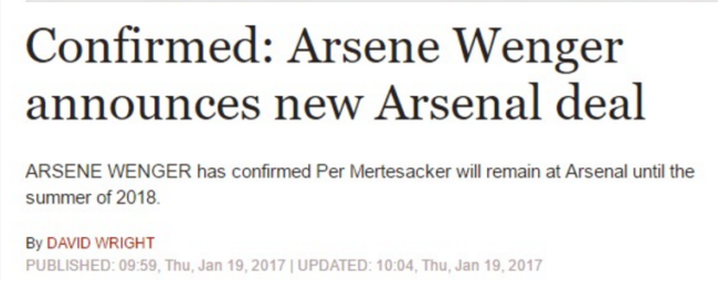 Arsenal Daily Express
