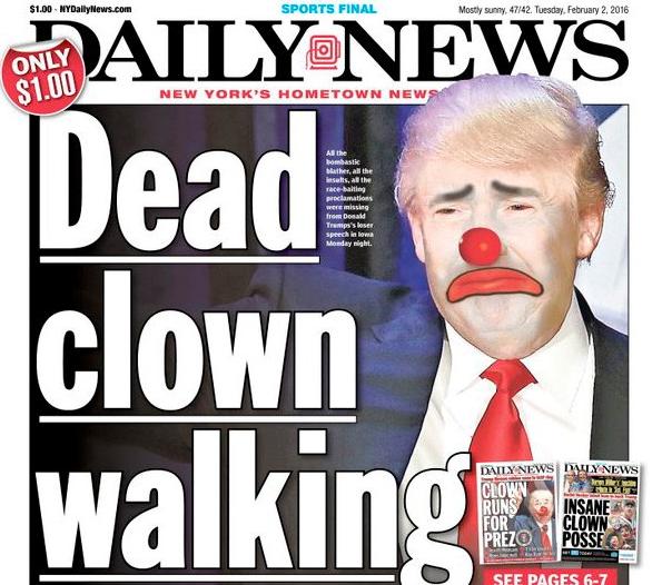 donald trump dead