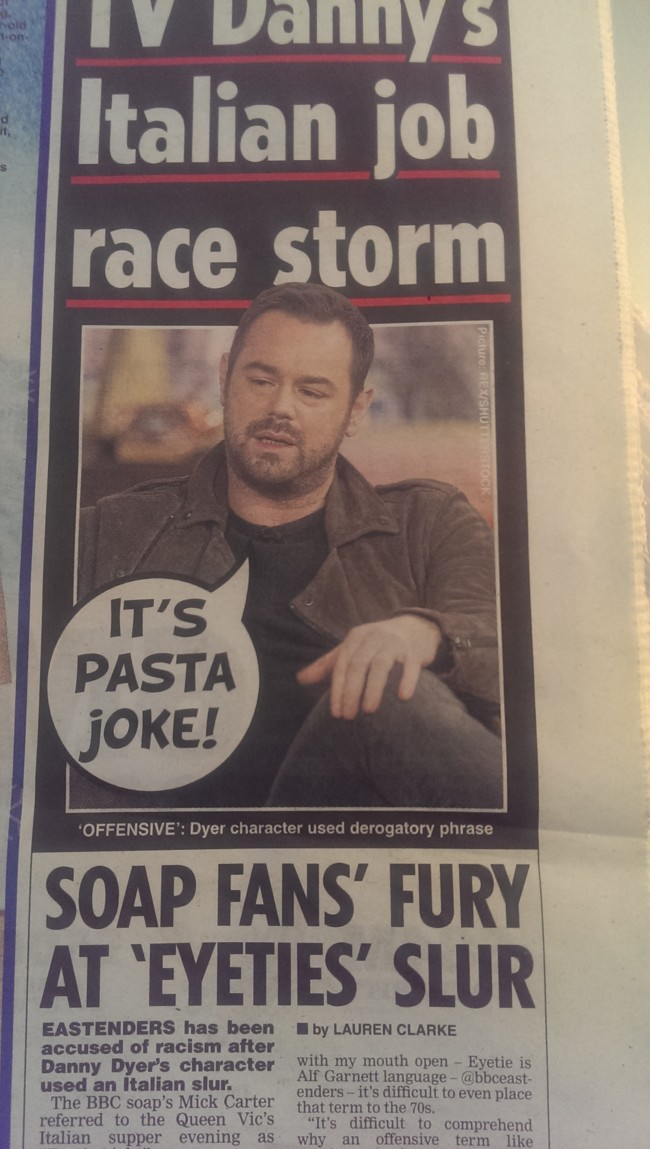 danny dyer daily star