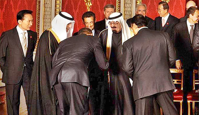 Obama meets the Saudi king
