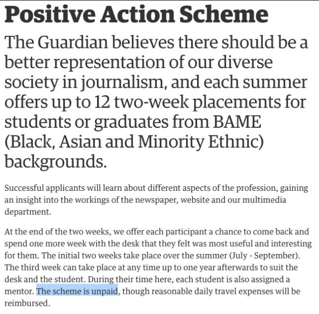 The Guardian BME jobs