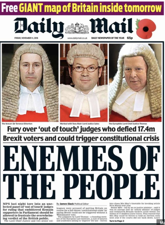 enemies of the people daily mail