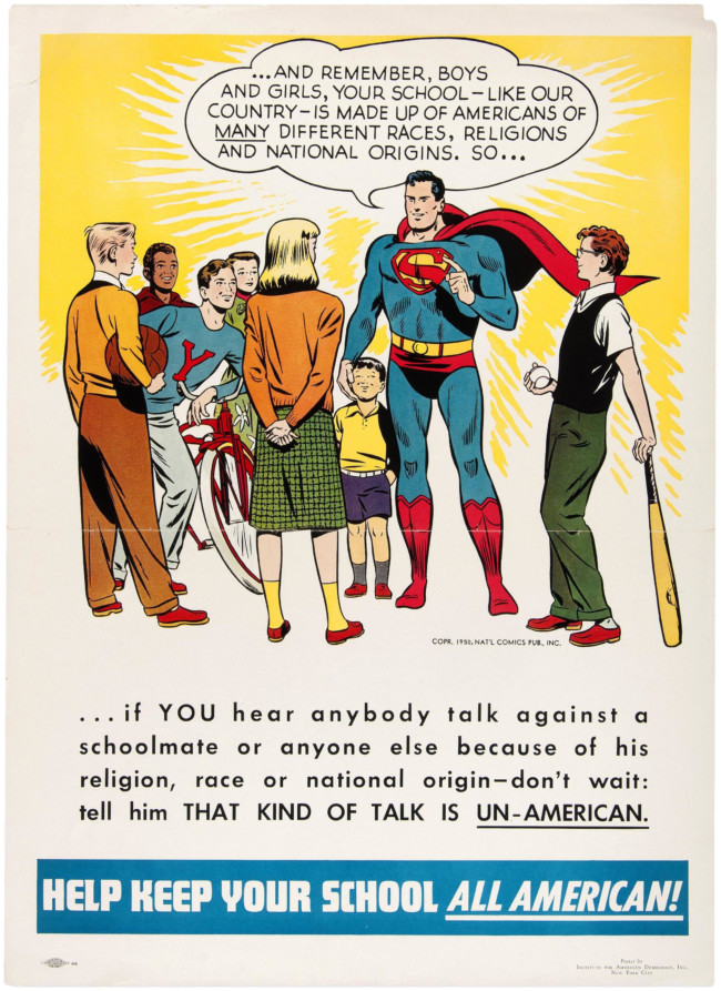 superman 1950 Trump