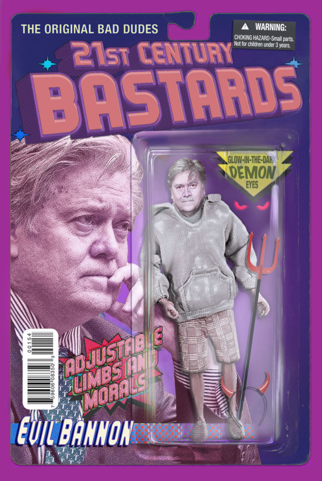 21st Century Bastards BAnnon - action figures for the post-truth age