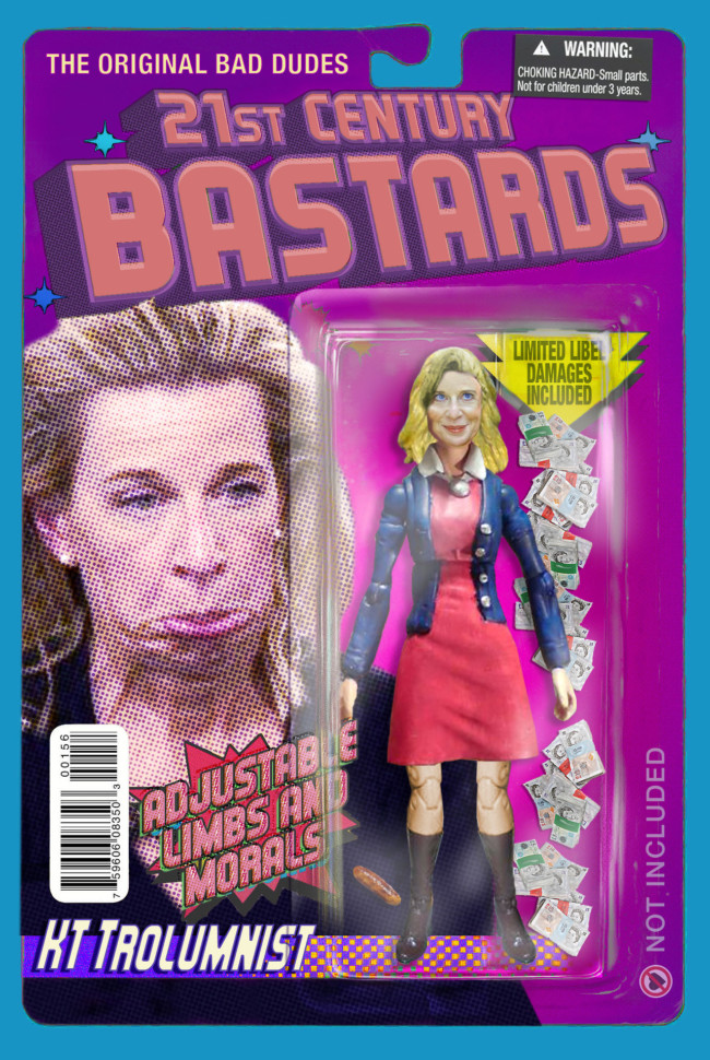 21st Century Bastards Katie Hopkins - action figures for the post-truth age
