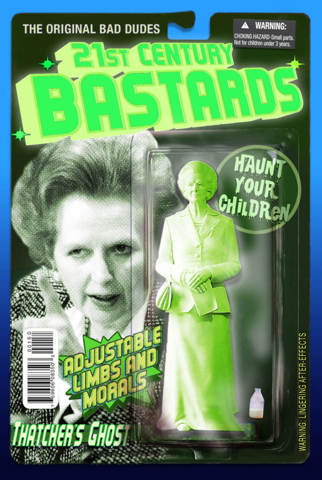 21st Century Bastards Maggie Thatcher - action figures for the post-truth age