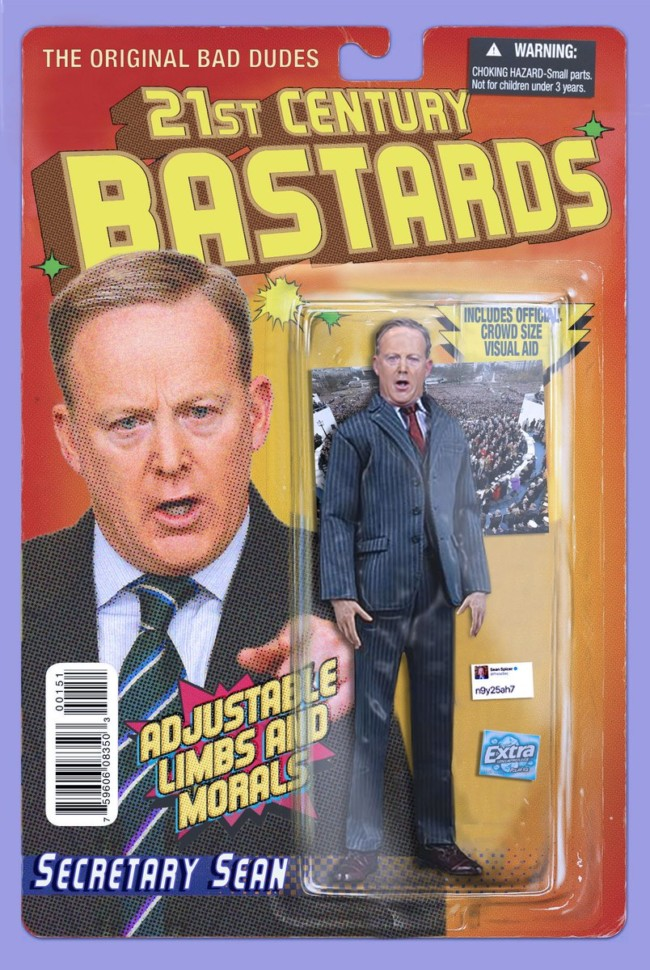 21st Century Bastards Sean Spicer - action figures for the post-truth age