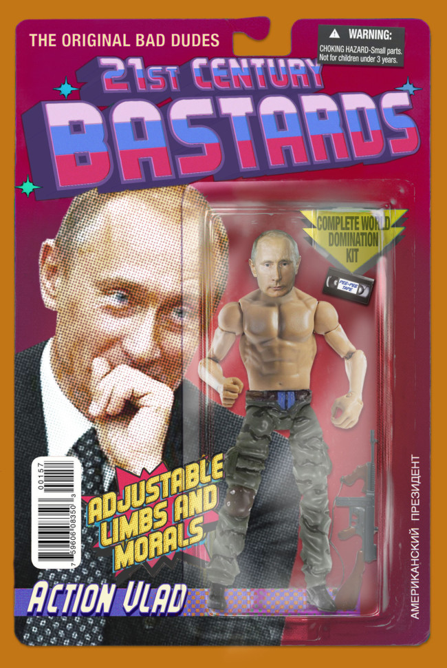 21st Century Bastards Vladimir Putin - action figures for the post-truth age