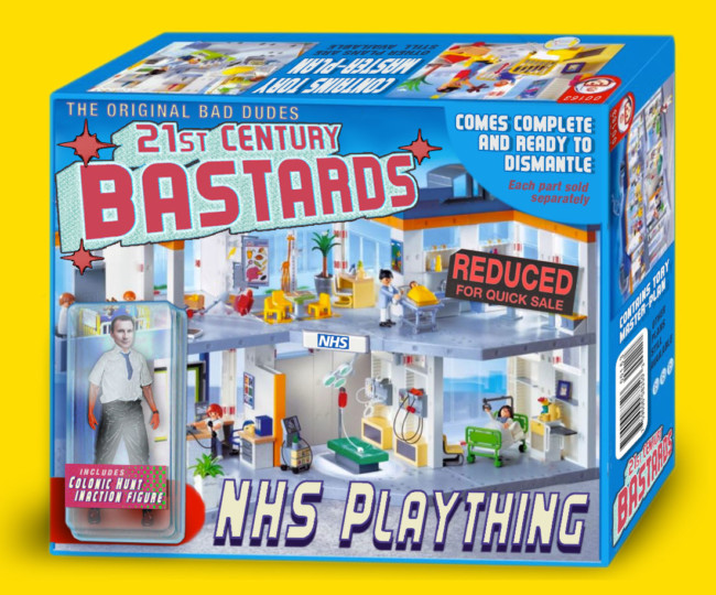 21st Century Bastards- action figures for the post-truth age