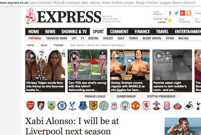 DAily Express SEO