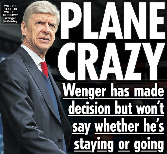 arsenal daily star