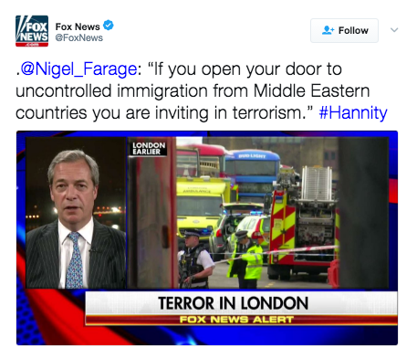 farage westminster terror immigration
