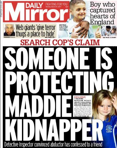 maddie mccann kidnapper daily mirror