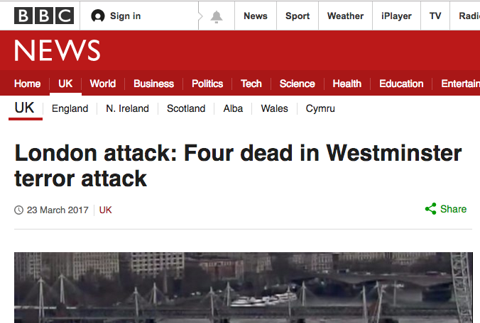 london terror westminster attack bbc