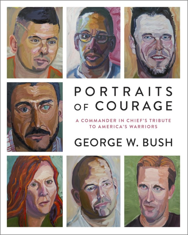 bush portraits courage