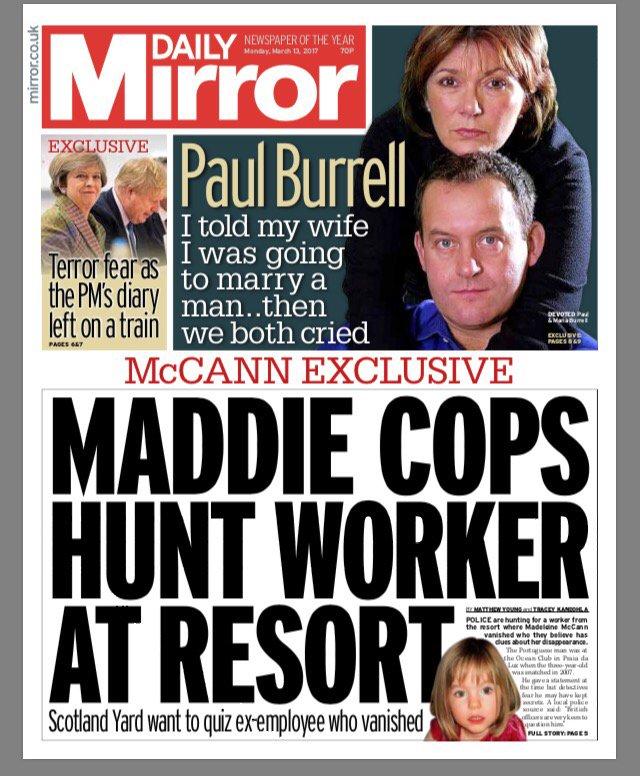 maddie mccann daily mirror