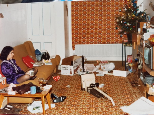 he year my father got my mother a hoover for Christmas 1984.