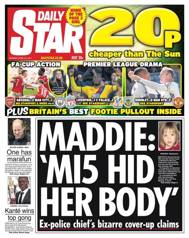 Maddie Mccann MI5