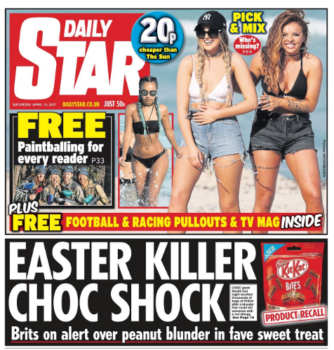 daily star easter