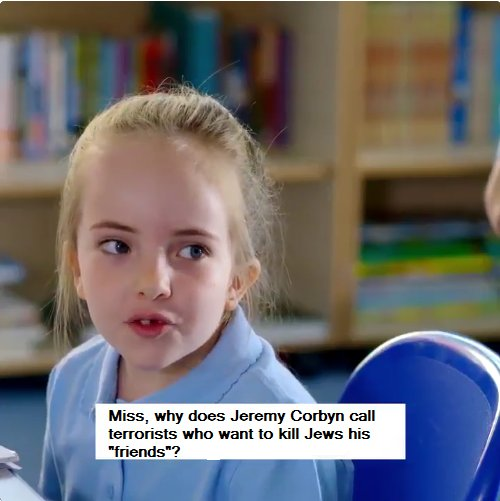 corbyn labour teacher party political broadcast