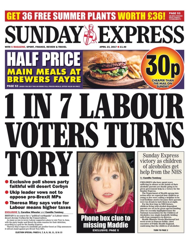 daily express maddy mccann