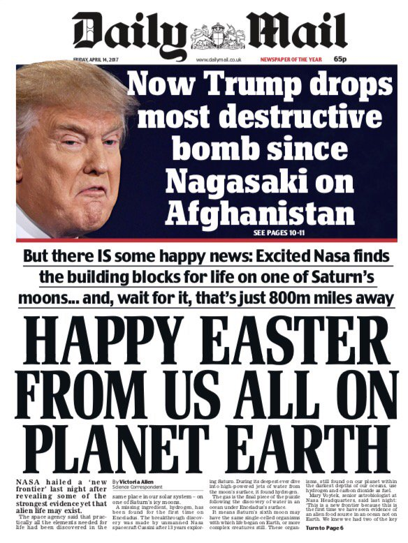 easter trump