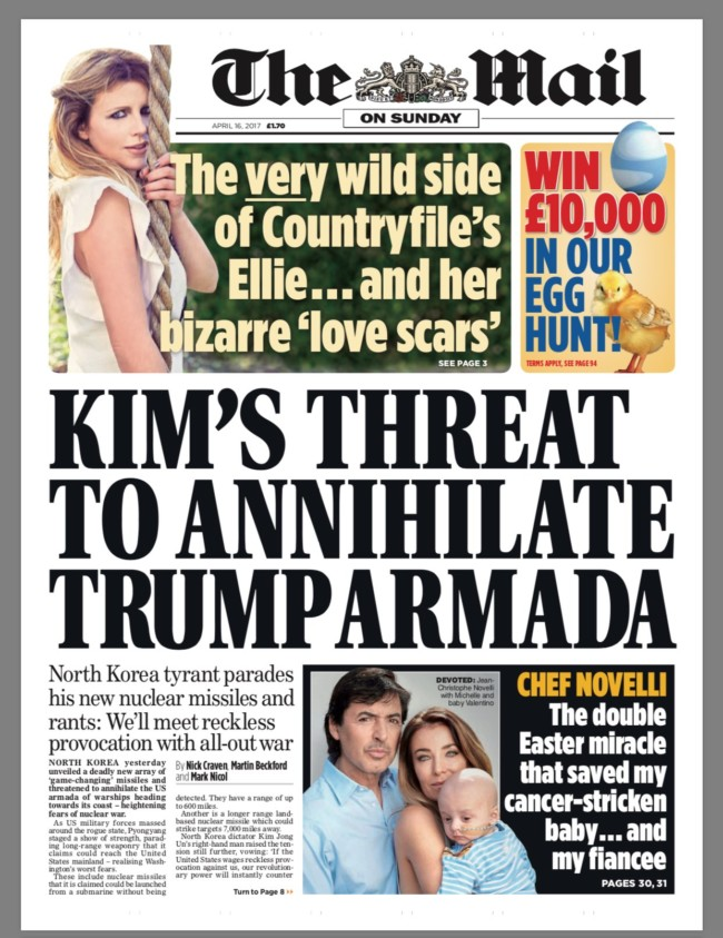 kim's threat north korea trump