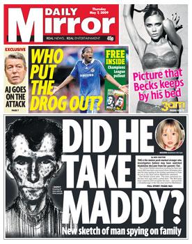 maddleine mccann suspect