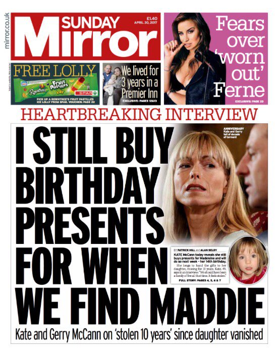Madeleine McCann: the 10th anniversary brings a routine 'revelation'