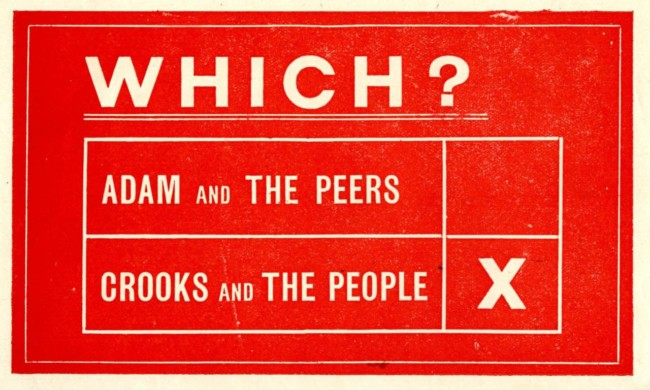 An-election-leaflet-from-Woolwich-for-the-UK-general-election-of-1929