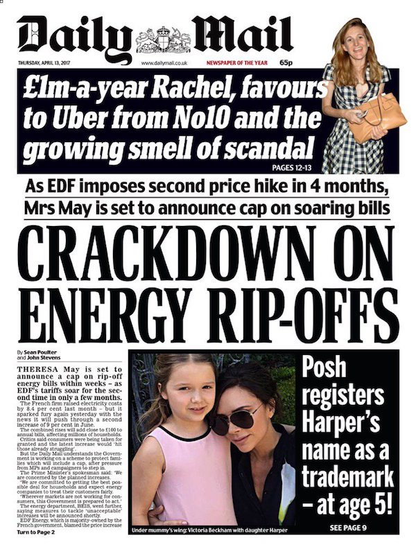April 11 may energy daily mail