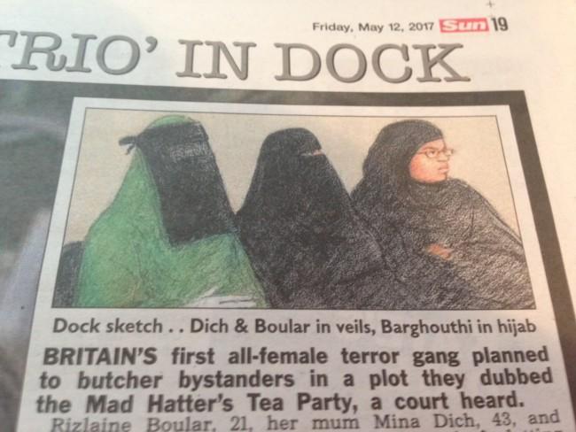 accused terrorists vei