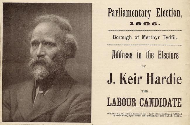 Keir-Hardie-1906-Labour-Party
