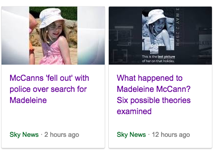 madeleine mccann theories