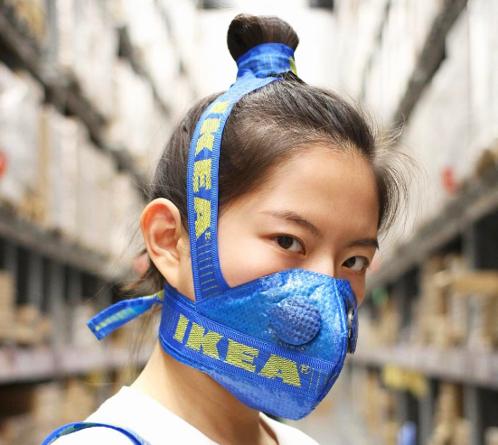 IKEA bag mask