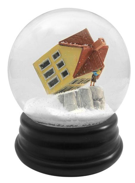 snow globe peril