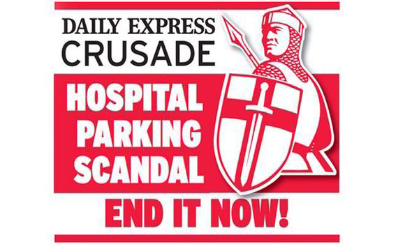 daily express crusade nhs parking