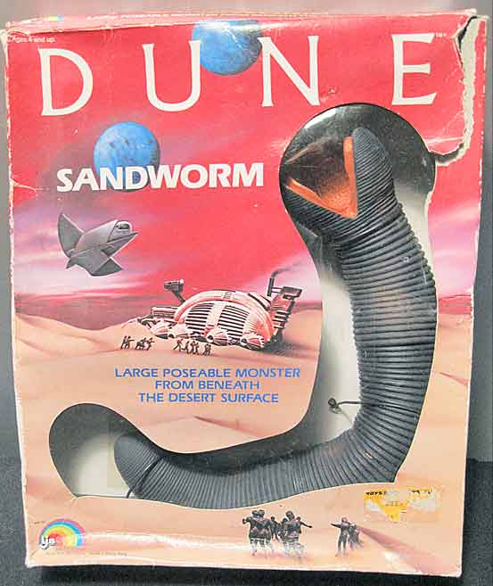dune sandworm toy