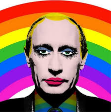 gay putin clown