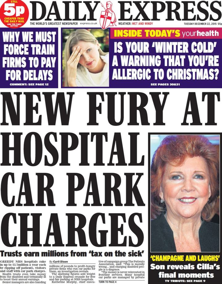nhs charges express
