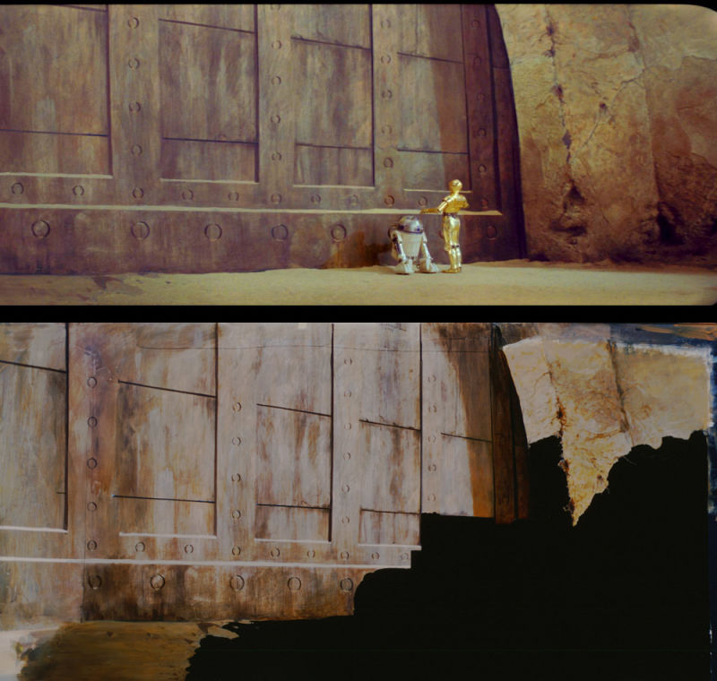 star wars trilogy paintings matte