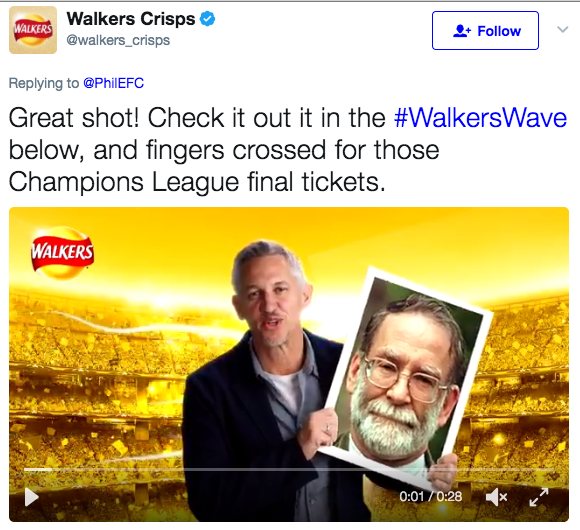 walkers wave fail lineker