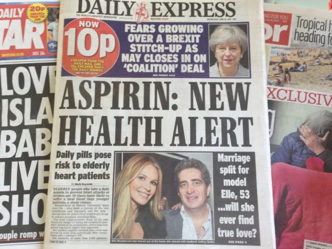 Aspirin Daily Express