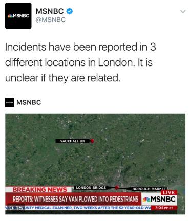 London terror attack Luton Vauxhall MSNBC