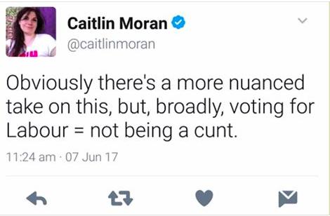 Caitlin Moran Labour